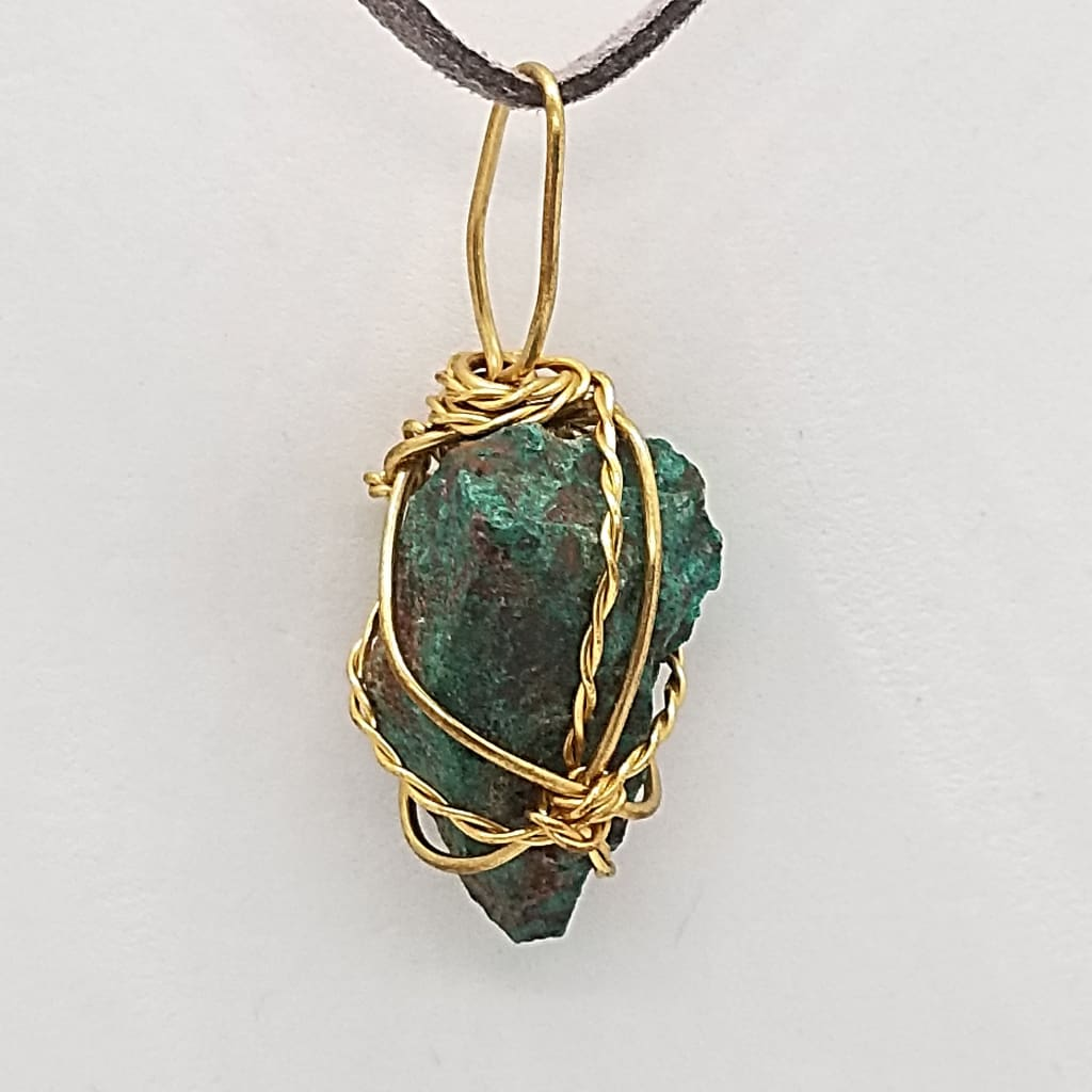 Chrysocolla - Wire Wrap