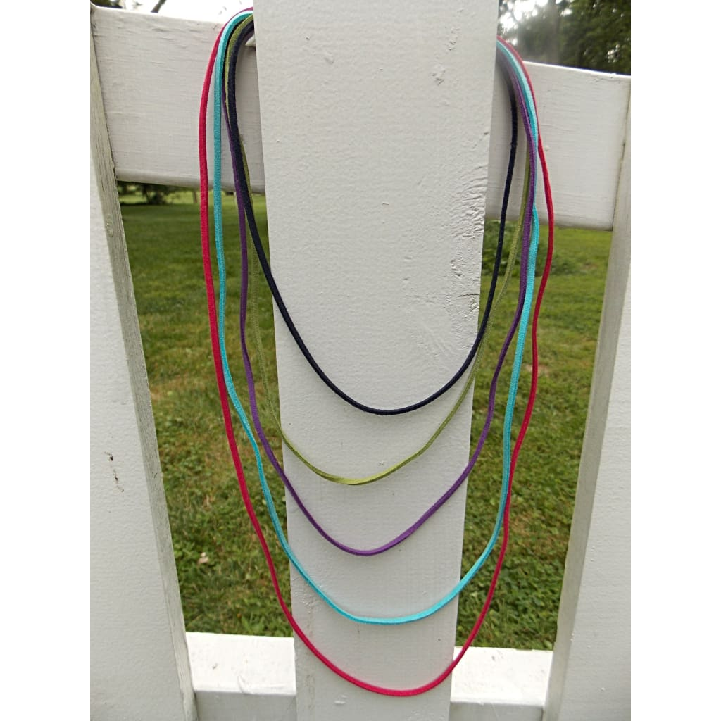 Faux Suede Necklace Cord