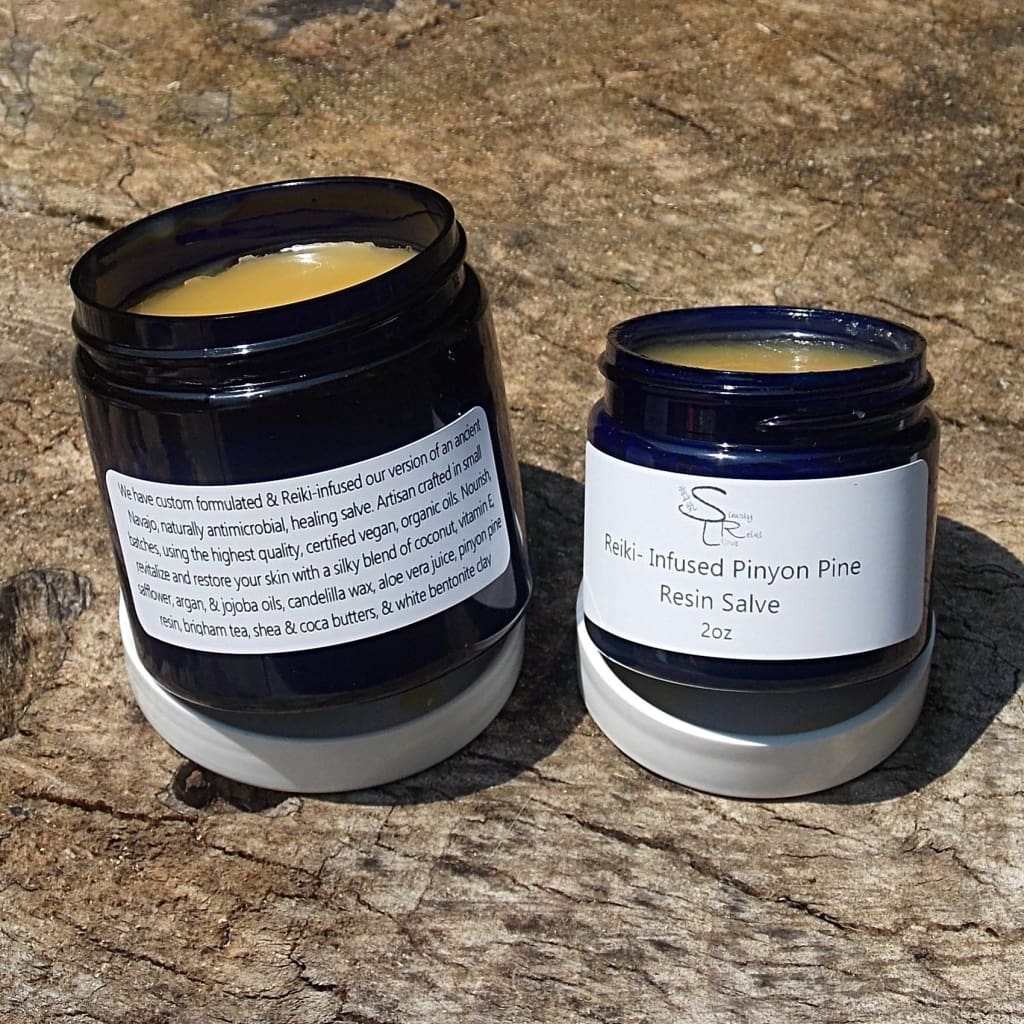 Pinyon Pine Resin Salve- Skin Problem Solver - Pinyon Pine Salve