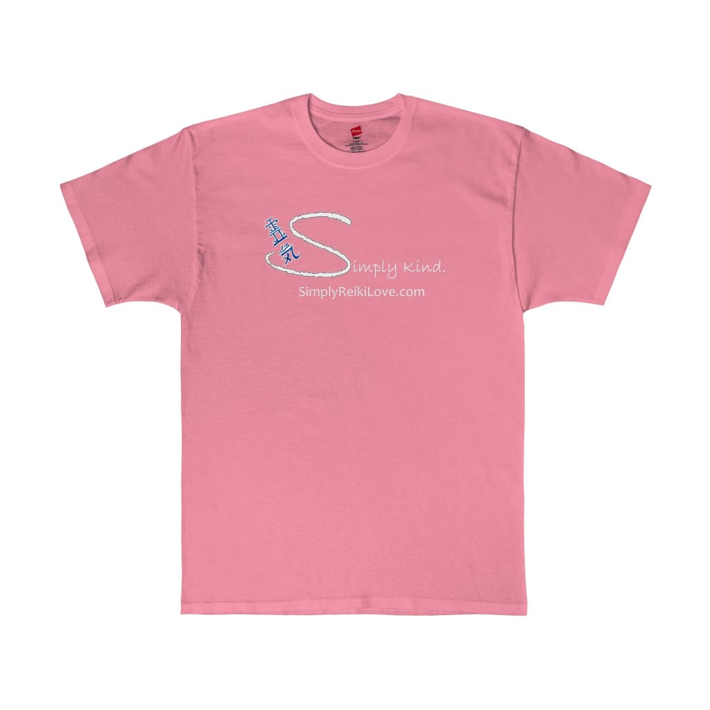 Simply Kind Comfy Tagless Tee - Pink / S - T-Shirt