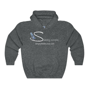Simply Simple Comfy Hoodie - Dark Heather / S - Hoodie