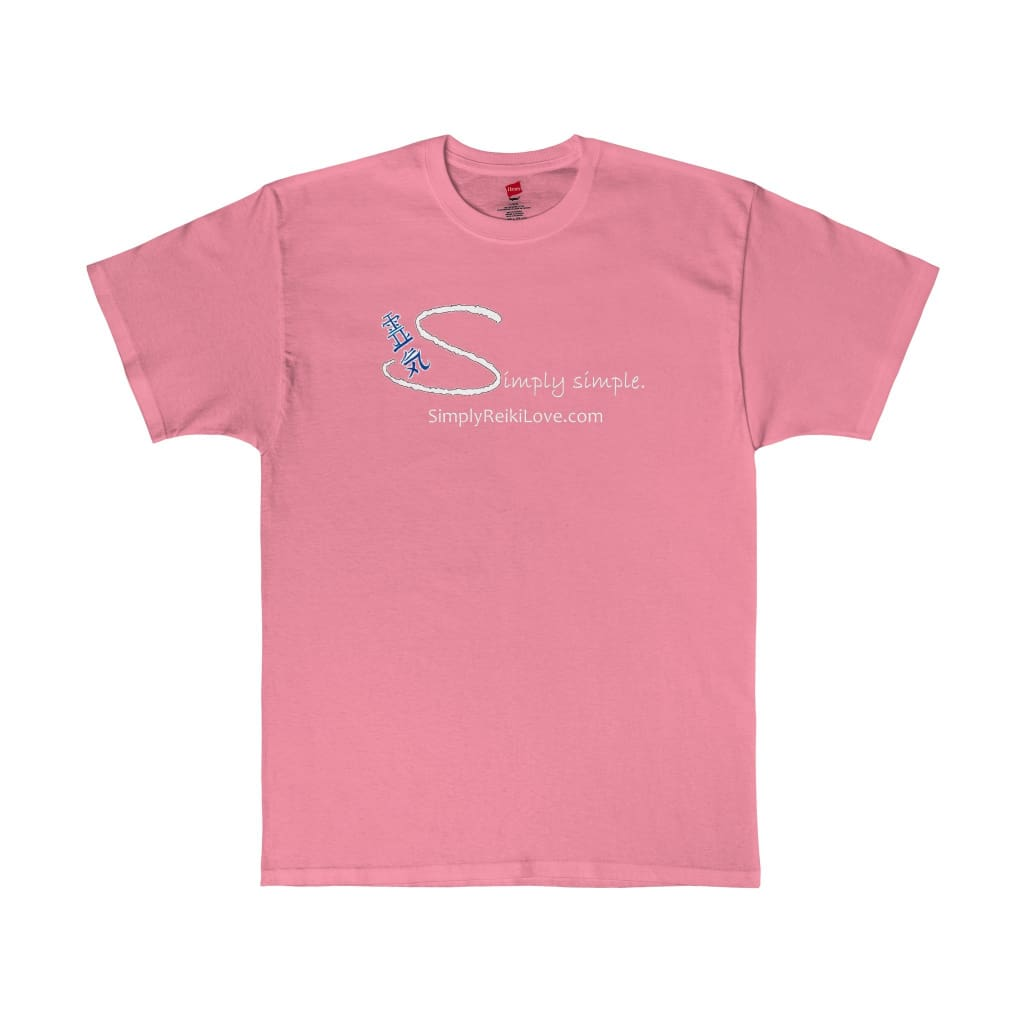 Simply Simple. Comfy Tagless T-Shirt - Pink / S - T-Shirt