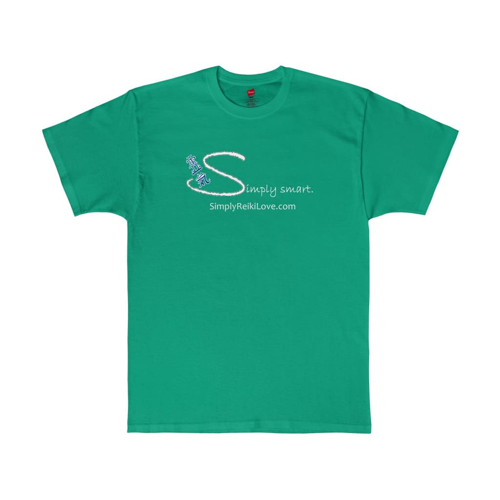 Simply Smart Comfy Tagless Tee - Kelly Green / S - T-Shirt