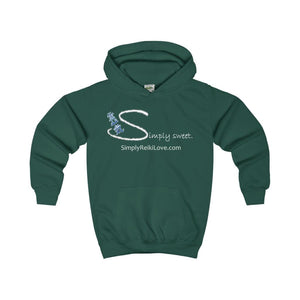 Simply Sweet. Kids Comfy Hoodie - Bottle Green / Xs - Kids Clothes