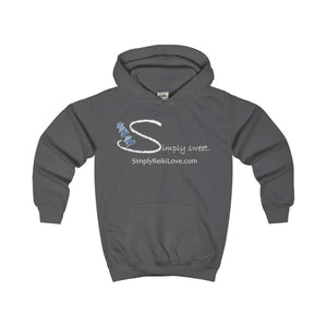 Simply Sweet. Kids Comfy Hoodie - Charcoal / Xs - Kids Clothes