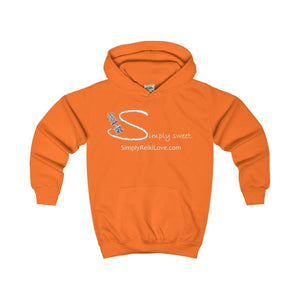 Simply Sweet. Kids Comfy Hoodie - Orange Crush / Xs - Kids Clothes