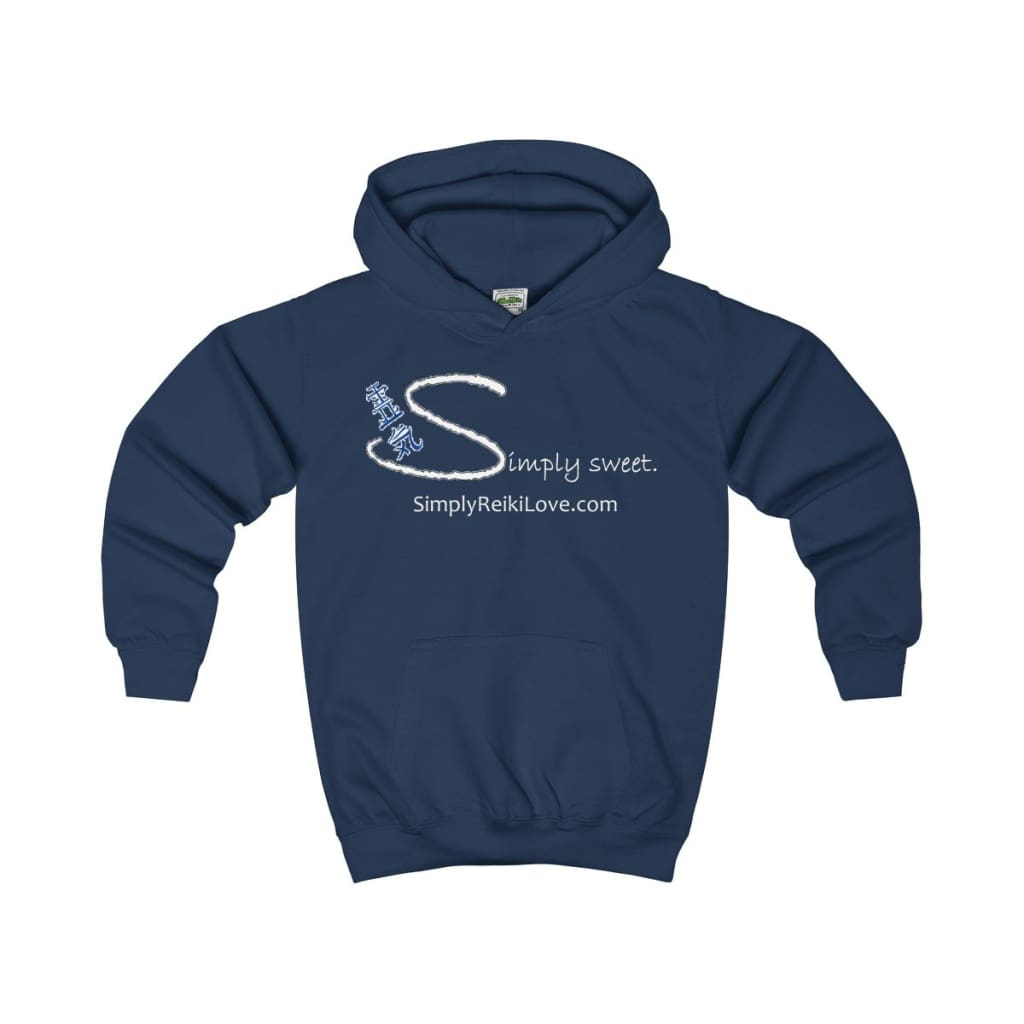 Simply Sweet. Kids Comfy Hoodie - Oxford Navy / Xs - Kids Clothes