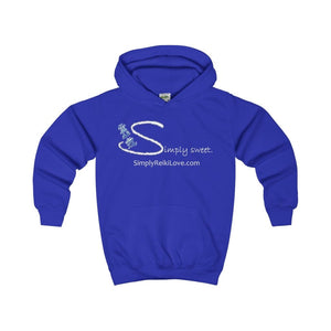 Simply Sweet. Kids Comfy Hoodie - Royal Blue / Xs - Kids Clothes