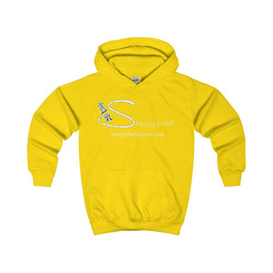 Simply Sweet. Kids Comfy Hoodie - Sun Yellow / Xs - Kids Clothes