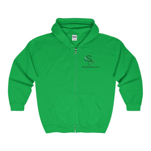 Srl Comfy Zip-Up - Irish Green / S - Hoodie