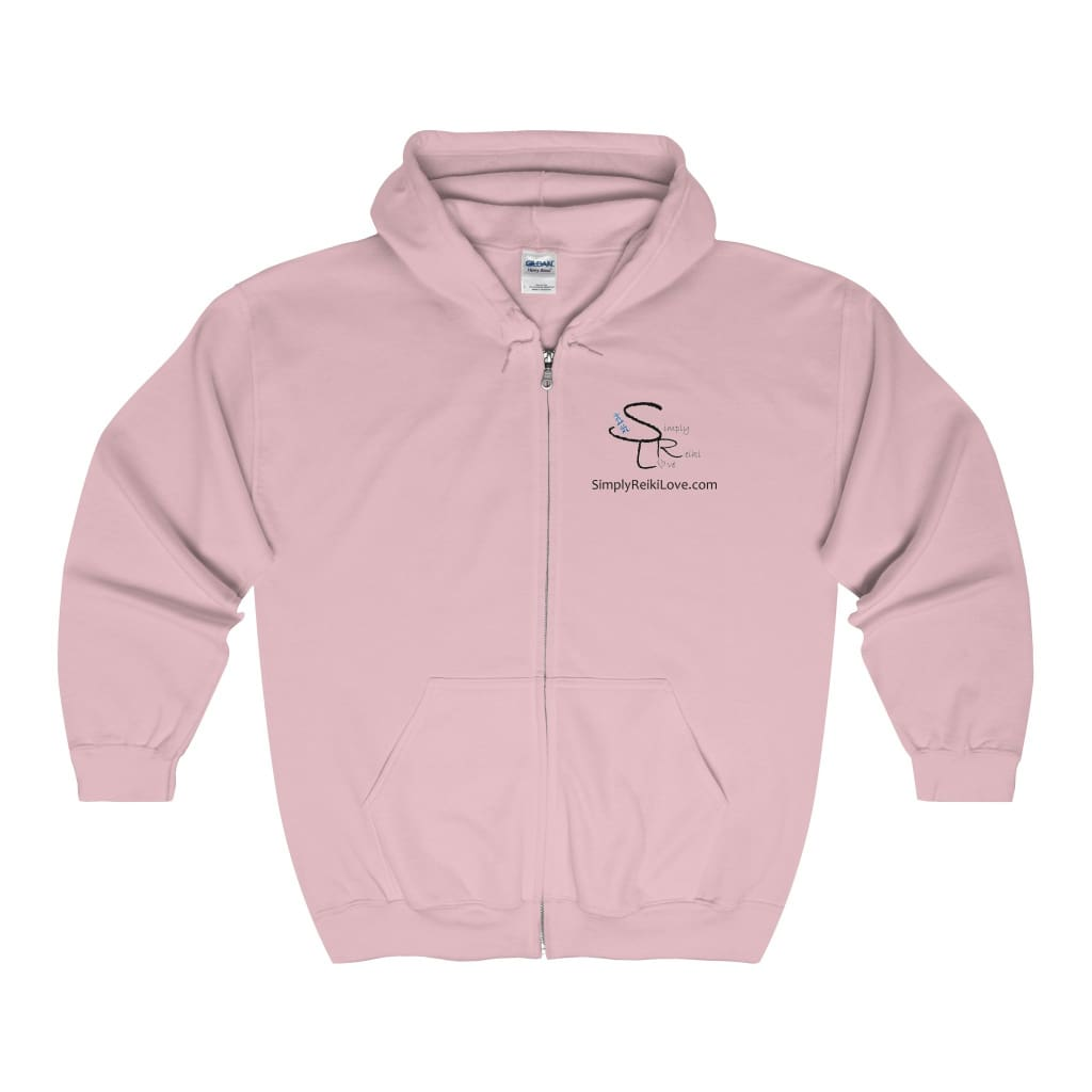 Srl Comfy Zip-Up - Light Pink / S - Hoodie