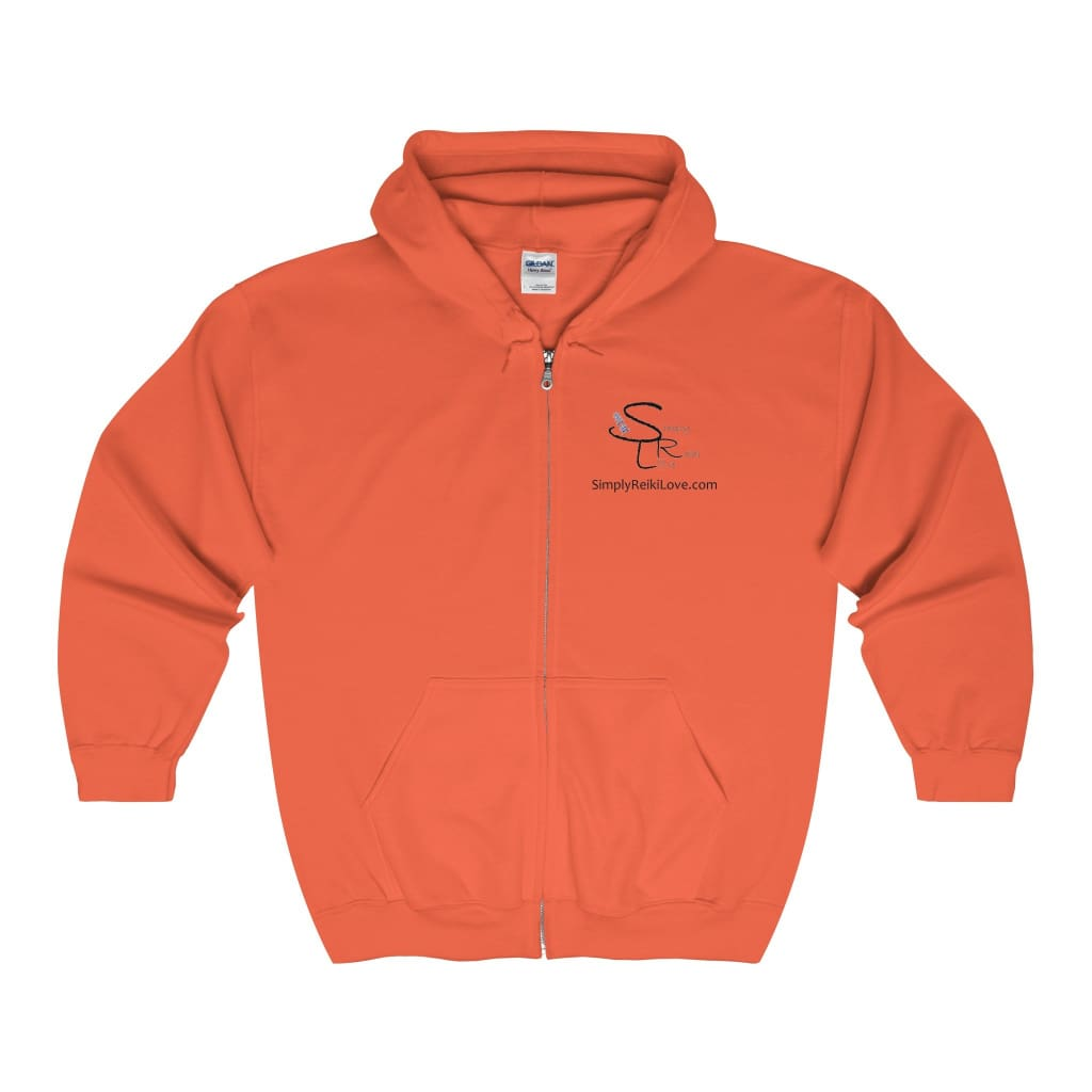 Srl Comfy Zip-Up - Orange / M - Hoodie