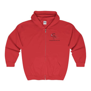 Srl Comfy Zip-Up - Red / S - Hoodie