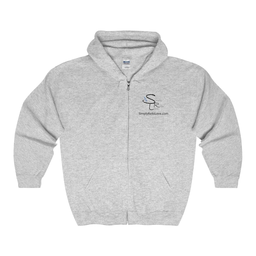Srl Comfy Zip-Up - Sport Grey / S - Hoodie
