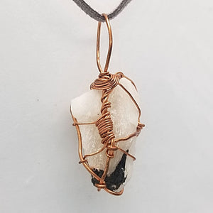 Tourmalated Quartz - Wire Wrap