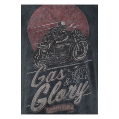 Gas and Glory t-skjorte - Krank Motostudio