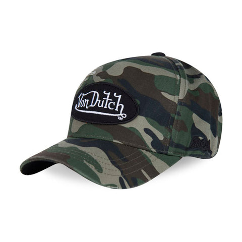 Von Dutch baseball cap Jack camo/black