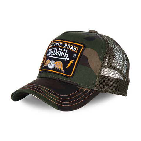 Von Dutch baseball cap Square camo