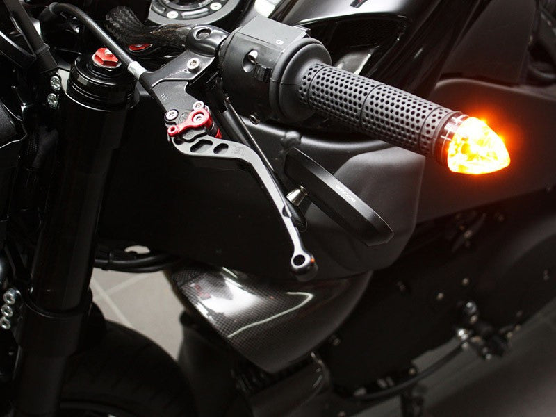 m-Blaze Cone Bar-End blinker - Krank Motostudio