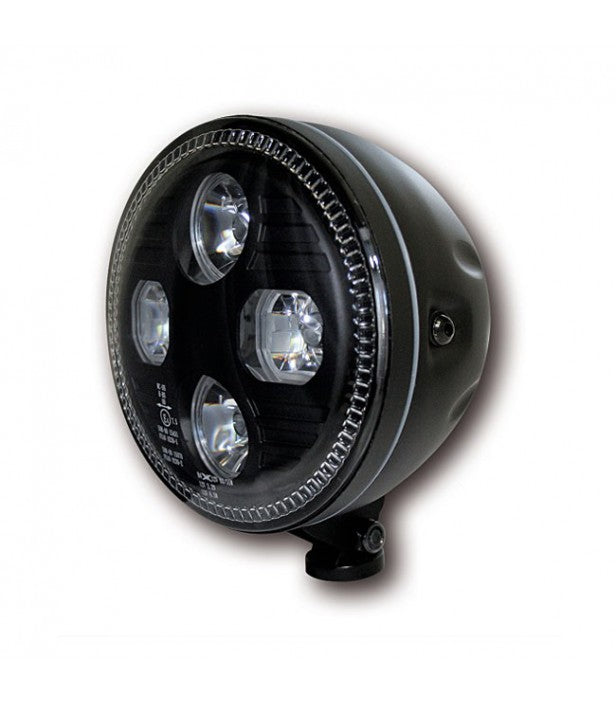 "ATLANTA 5-3/4"" LED HEADLIGHT - Krank Motostudio"