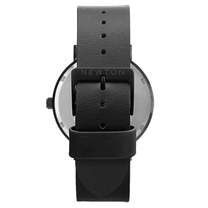 Premium Minimal, classic Unisex watches and jewellery Simple Handcrafted Watches, The White & Black. comes with a black casing and black indexing.