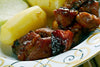 Honey-Ginger Balsamic Glazed BBQ Ribs