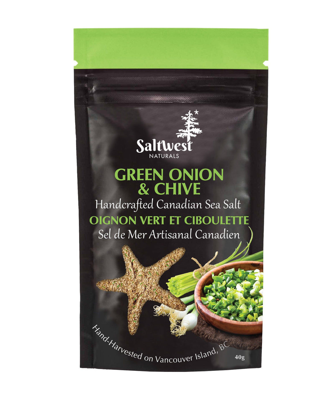 Saltwest - Green Onion & Chive Sea Salt