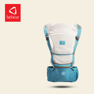 Bebear new hipseat for newborn and prevent o-type legs 6 in 1 carry style loading bear 20Kg Ergonomic baby carriers  kid sling