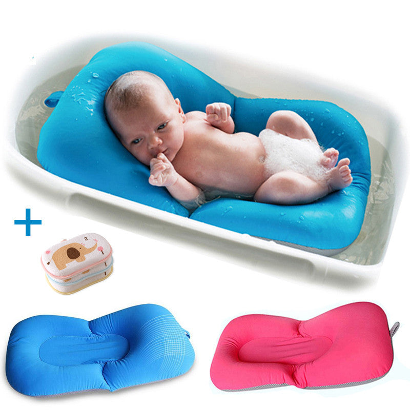 New Design Foldable Baby bath tub/bed/pad bath chair/shelf baby shower nets