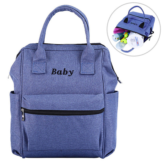 Maternity Nappy Bags Mummy Diaper Bag Multifunction Travel Baby Nappy Care Nursing Organizer Backpack Mother Shoulder Bags