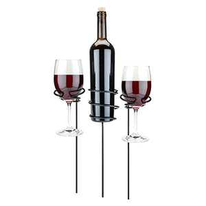 Wine Glass & Bottle Holders
