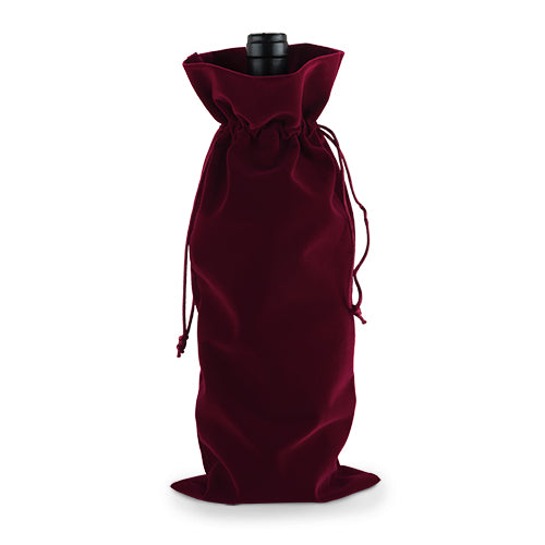 Red Velvet Bottle Sack - Spoiled Store