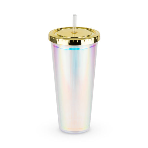 Iridescent Drink Tumbler - Spoiled Store