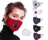 Reusable Mask With 2 Filters