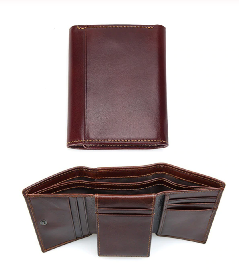 RFID & Anti Theft Trifold Wallet