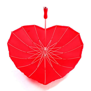 Red Heart Umbrella - Spoiled Store