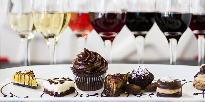 Delectable Dessert + Wine Pairings