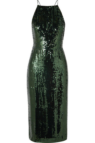 Muted Sequin Dress
