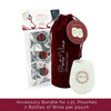 Accessory Bundle - (2) Silicone Cups and (3) 1.5L Party Pouch