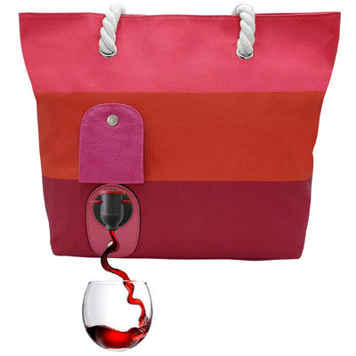 PortoVino Wine Purse Canvas