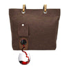 Designer wine bag with spout that holds wine or beverage of choice