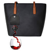 Purse with spout that holds wine or beverage of choice