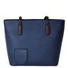 Blue purse with hidden wine dispenser