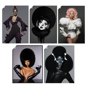 Avant Garde Sticker Pack Nº1 hungry, kim chi, Farrah moan, Naomi smalls, Nina merch