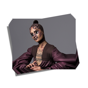 Hungry drag makeup artist print merch Adam Ouahmane