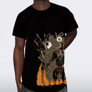 The ANUBIS God of the Underworld Tee front
