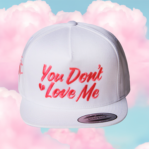 "Farrah ""Love"" Hat - White"