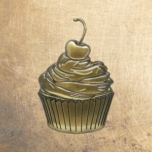 Brass Pin Collection: Kalorie's Kupcake