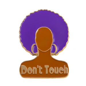 The Vixen merch pin drag queen season 10 Don't Touch Enamel Pin
