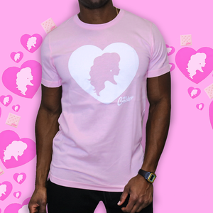 The Miz Cracker Heart Tee (in Soft Pink)